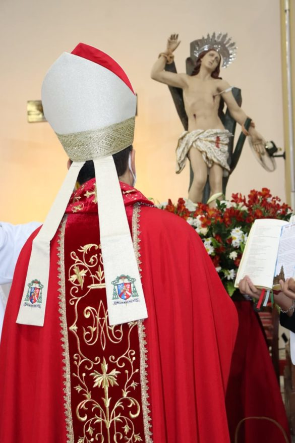São Sebastião é celebrado em toda Diocese de Leopoldina