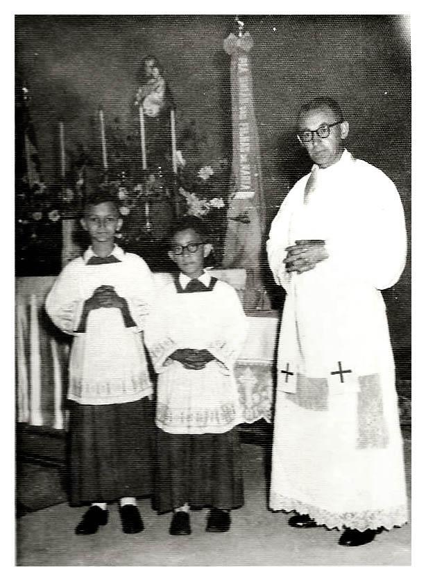Egídio Donkers, OSC (Arquivo Paróquia São José Operário - edição Memória Leopoldinense)