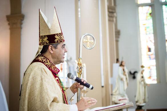 """""""Cada sacerdote é uma dádiva de Deus para a Igreja Particular de Leopoldina"""", disse dom Edson"""
