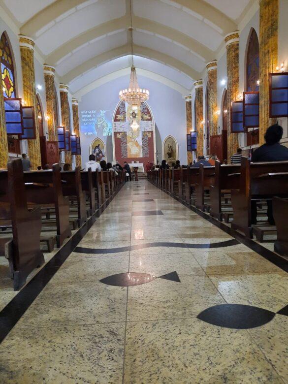 Festa do padroeiro São João Batista é celebrada em Visconde do Rio Branco