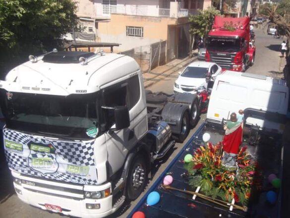 Celebrações e carreatas marcam a Festa de São Cristóvão