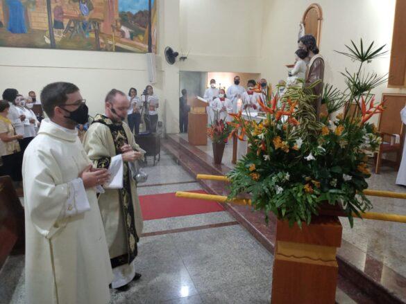 Imagem de São José inicia peregrinação na forania de Cataguases