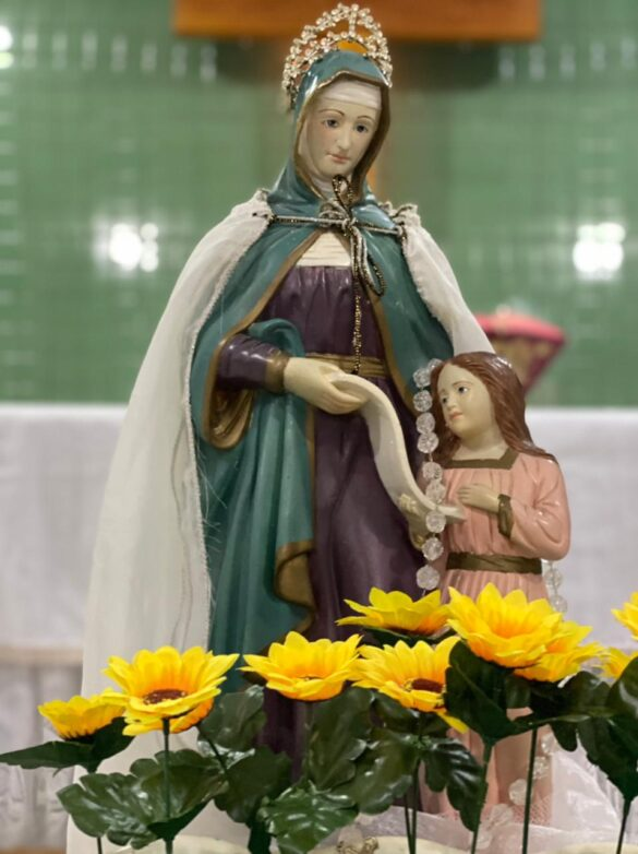 Em Cataguases, Comunidade Sant'Ana (Ana Carrara) celebra sua padroeira.