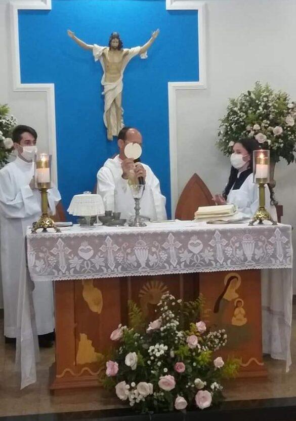 Novena e Festa da Padroeira Sant'Ana é celebrada em Santana de Cataguases