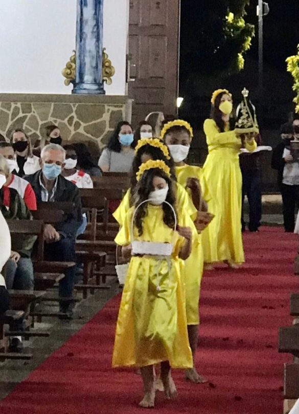 Comunidade de Piraúba celebra os 14 anos de sacerdócio do Pe. Márcio Arthur