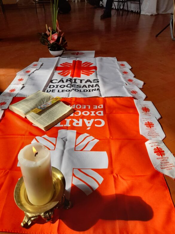 Cáritas Diocesana de Leopoldina elege nova diretoria
