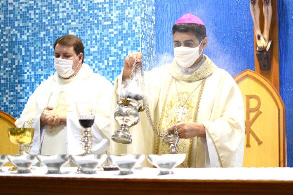 Pe. Mariosa é o novo pároco da Paróquia Nossa Senhora do Sagrado Coração de Muriaé