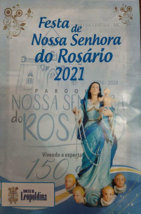 Programação da Festa de Nossa Senhora do Rosário